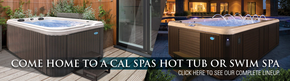 Cal Spas Patio Series Hot Tubs