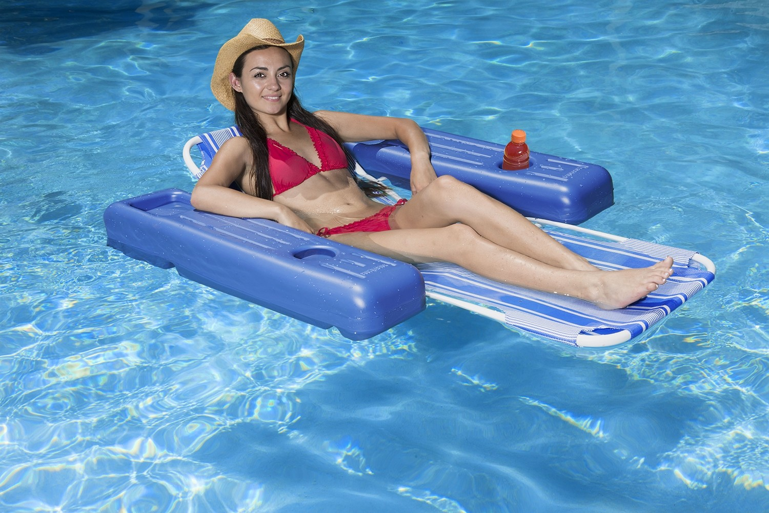 pool master carribbean floating lounger 70727