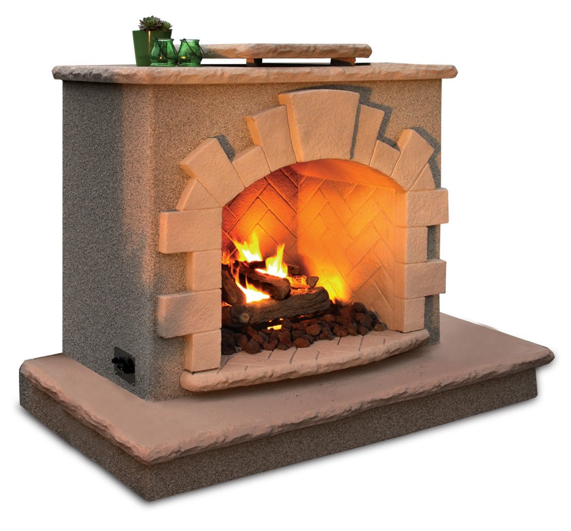 California Hot Spas Cal Flame Outdoor Gas Fireplace Frp906 3
