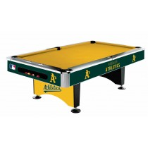 Imperial International - MLB Oakland Athletics Pool Table - 64-2018