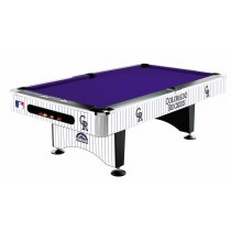 Imperial International - MLB Colorado Rockies Pool Table - 64-2023