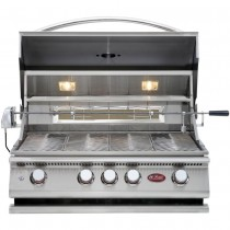 Cal Flame 4 Burner Convection Grill, BBQ13874CP