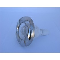 "CAL SPAS JET INSERT - STAINLESS, 3.5"" MFD, DIRECTIONAL (#283550W) CANDY CANE PLU283550W"