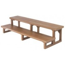 "CAL DESIGNS STEP 60"" PREFERRED CEDAR WOOD109-CSC"
