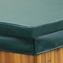 "COLEMAN SPA COVER 84 X 84 BASIC 4-2.5"" TAPER HUNTER GREEN COV8484B42GR-SSO"
