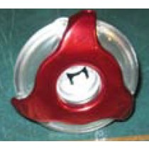 "COLEMAN JET INSERT- STAINLESS 2"" CLEAR RED EURO #282030W-RDCL PLU282030W-RDCL"