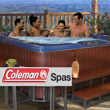 Spas and hot tubs - view all Coleman Spas